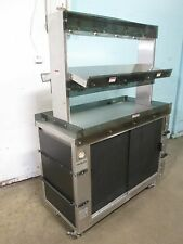 """""""Hickory"""" Commercial Hd Heated Lighted Self-Serve Hot Food/Chicken Merchandiser"""