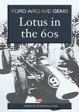 LOTUS in the 60's DVD. JIM CLARK, LOTUS 49. FORD MOVIE FILM. 54 Min. DUKE 3973NV