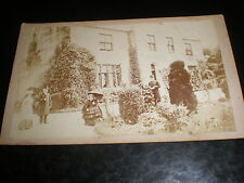 Cdv old photograph Llanllechid Rectory by london photo co c1860s