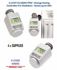 4 X Eht Clásico Pro-Controlador de ahorro de energía para radiadores-ahorra hasta un 30% en