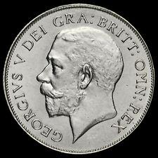 1924 George V Silver Shilling, Rare, A/UNC
