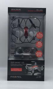 Zipp Nano 2.0 High Performance Drone Red Indoor / Outdoor Propel 2.4Ghz