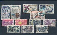 LM93465 Czechoslovakia astronaut rocket space fine lot MNH