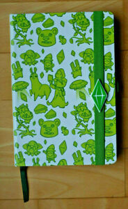 DIN A5 Notizbuch - Hardcover - blanko - Stiftschlaufe