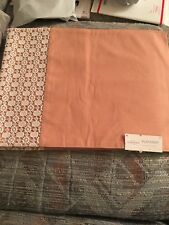 Brand new with tags Threshold Cloth Placemats 14 x 19. Set of 4. Peach or Coral