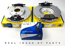FRONT AXLE BRAKE SET DISCS AND PADS FOR FORD VOLVO COMLINE ADB01323 ADC1912V
