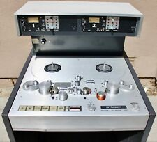"""STUDER A80VU PREVIEW 1/2"""" 2 TRACK 15/30IPS MASTERING REEL TAPE DECK SERVICED!"""