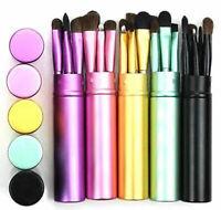 5 Pcs/set Travel Portable Mini Eye Makeup Brushes Set Reals Eyeshadow Eyeliner