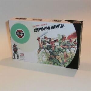 Airfix Empty Repro Box #51458 Australian Infantry Target Logo 1:32 Scale