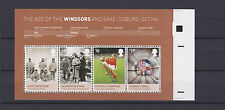ENGLAND 2012. Minisheet Age of Windsors error cut **