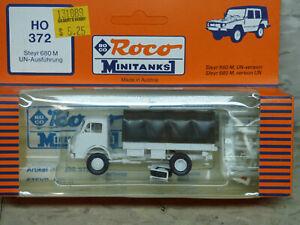 Roco Minitanks / (NEW) 1/87 Modern German UN Steyr 680 M 4x4 Truck Lot #5275K