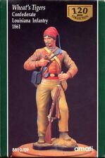 AMATI 120mm Wheat's Tigers Confederate Louisiana Infantry 1861 Resin Kit#8510/09