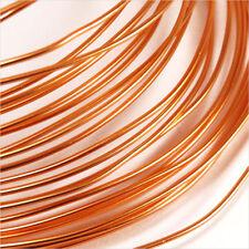 Fil en Aluminium 1mm – 2 Mètres couleur cuivre