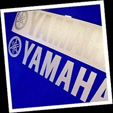 Yamaha SILVER 23in 58cm decal sticker decals yfz yz big keyboard trailer size xj