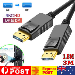 Displayport Display Port DP to Displayport Cable Male to Male Full HD High Speed