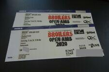 2 x BROILERS - Essen - Innenraum - 11.07.2020 - Preis gilt für beide Tickets