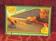 Nerf Table Hockey Vintage Tabletop Toy 1987 Very Good Condition 1987