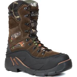 Rocky 5452 BlizzardStalker PRO Waterproof 1200g Insulated Winter Hunting Boots