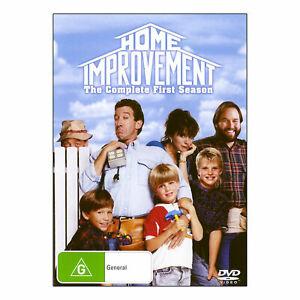 Home Improvement: Season 1 DVD (4 Disc Set) Tim Allen - Region 4 - NEW+SEALED