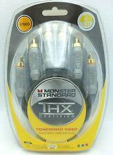 Monster Standard THX V100CV 4' component video cable