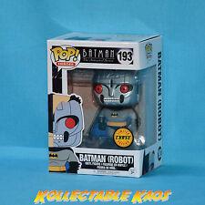 Batman: The Animated Series - Robot Bat Pop! Vinyl Figure - Chase Version