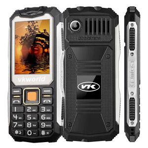 VKWORLD STONE V3S RUGGED PHONE.2200mAh BATTERY ❚IP65❚ FLASHLIGHT/KEYPAD_[BLACK]