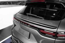 Trunk spoiler Techart for Porsche Cayenne E3 2018 2019 2020, unpainted