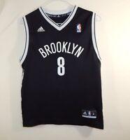 Free shipping. Brooklyn Nets Deron Williams NBA Basketball Jersey ADIDAS  Size YOUTH MEDIUM ad949e661