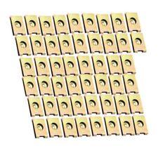 50Pcs Car Door Panel Screw U-Type Iron Nuts Plate Clip Fastener R2X5