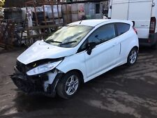 Ford Fiesta Zetec mk7 b299 3 Door white breaking 1.2 petrol 5 speed manual 2013