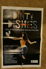 DIRTY DISHES  SEXY CAROLE LAURE     ONE SHEET 1978