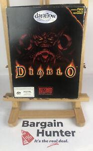 3167 Big Box Diablo Blizzard PC Complete Game In Ok Condition