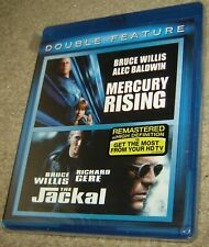 Double Feature Blu-Ray Mercury Rising, The Jackal, Widescreen,With Bruce Willis
