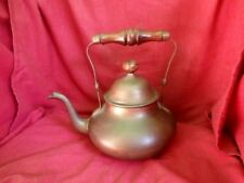 KETTLE  -  OLDER STYLE  -  DECORATIVE  -  QUITE HEAVY