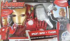 Age Of Ultron Iron Man y Thor Disfraces Marvel Talla 4-6 Dos Trajes! Caja 31661
