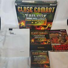 Close Combat Trilogy for Microsoft Windows PC Big Box Complete 1999
