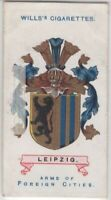 Leipzig Germany Coat Of Arms Prussia Saxony 100+ Y/O  Ad Trade Card