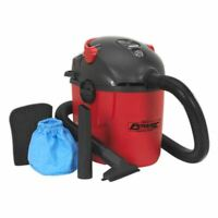 Sealey PC100 Vacuum Cleaner Wet & Dry 10ltr 1000W / 230V