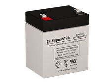 OEM Replacement for 12V 5 AH F1 SLA Battery For Yuasa NP4-12 Battery