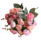 21heads Artificial Silk Small Flowers Rose Bunch Wedding Party Home Decor Co Uk