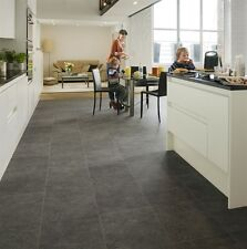 QuickStep Exquisa Slate Black Galaxy EXQ1551 Laminate Tiles Flooring Deal 13.9m2