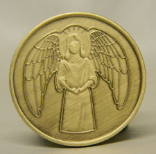 RECOVERY MEDALLION - GUARDIAN ANGEL - SOBRIETY - BRONZE