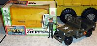 RARE 1982 MASH Jeep & Action Figure WITH HELMET 4077th M.A.S.H. MIB Tristar Set