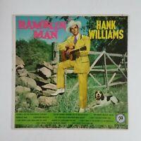 HANK WILLIAMS Ramblin' Man E3219 LP Vinyl VG Cover VG