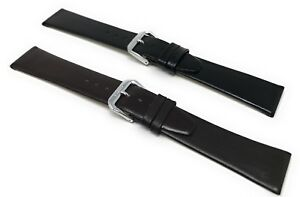 8 - 20mm Extra Long XL Watch Band Strap Black, Brown, Fit Citizen, Skagen & More