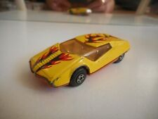 Matchbox SUperfast Datsun 126x in Yellow/Red