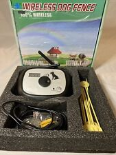 New listing Wireless Dog Fence (No Collar!)Just Monitor And What Is Shown In Pictures