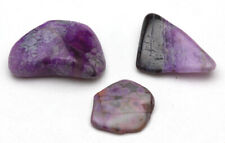 SUGILITE Polished Mineral Specimen Natural Lapidary Gemstone 3pc LOT AFRICA