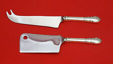 Modern Victorian by Lunt Sterling Silver Cheese Server Serving Set 2pc Custom