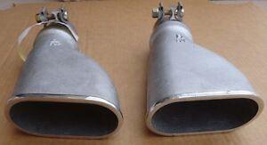 NOS 93-02 Trans Am Formula Firebird SLP WS6 exhaust tailpipe tips RARE GM 96 97